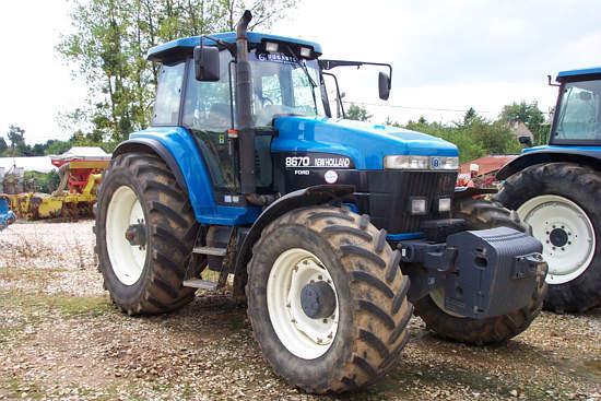 Photo du Tracteurs agricoles 8670