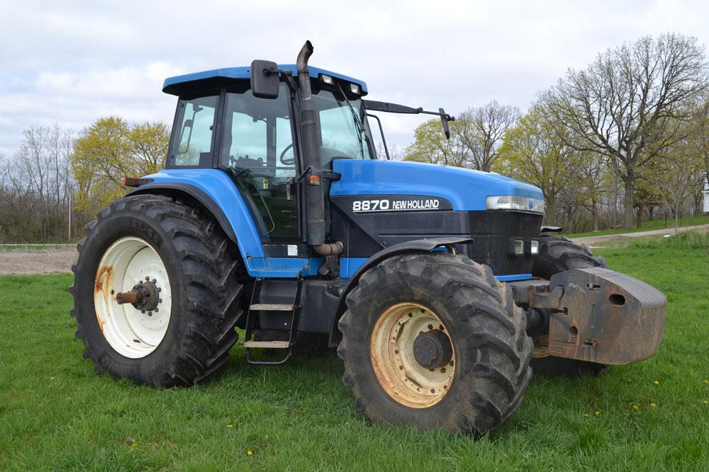 Photo du Tracteurs agricoles 8870