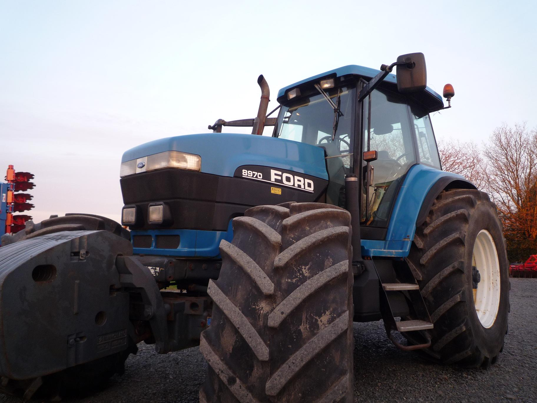 Photo du Tracteurs agricoles 8970