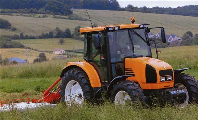 Photo du Tracteurs agricoles Ares 550 RX/RZ