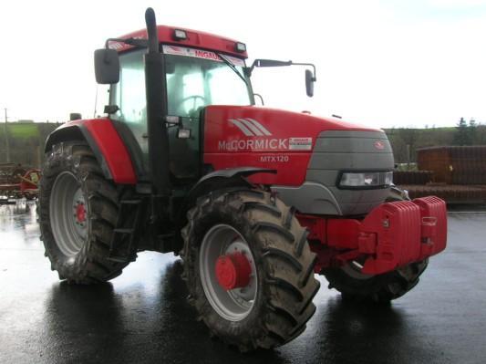 Photo du Tracteurs agricoles MTX 120