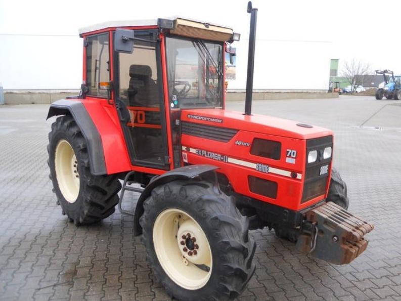 Photo du Tracteurs agricoles Explorer 70 II 4RM