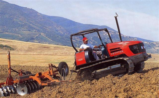 Photo du Tracteurs agricoles Krypton 90 (chenillard)