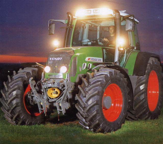 Photo du Tracteurs agricoles 818 Vario TMS