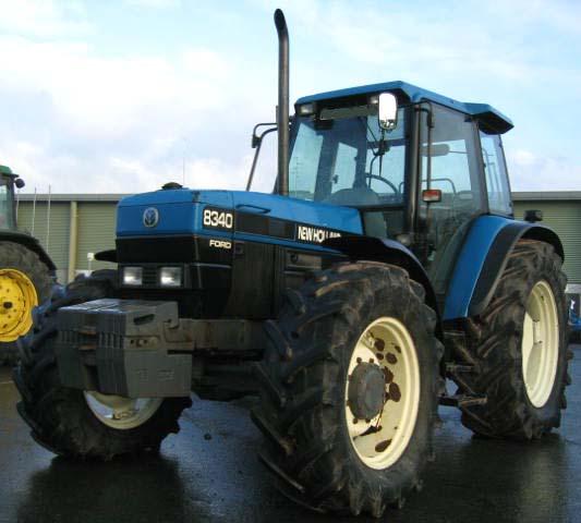 Photo du Tracteurs agricoles 8340 SLE