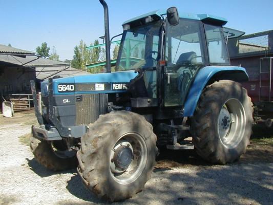 Photo du Tracteurs agricoles 5640SL / SLE