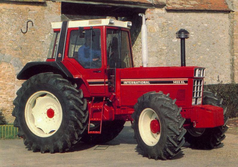 avis 1455 xl de la marque case ih tracteurs agricoles. Black Bedroom Furniture Sets. Home Design Ideas