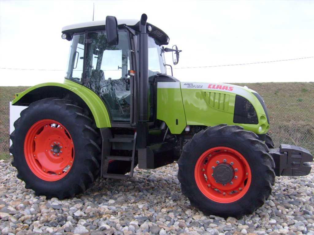 avis 657 atz de la marque claas tracteurs agricoles. Black Bedroom Furniture Sets. Home Design Ideas