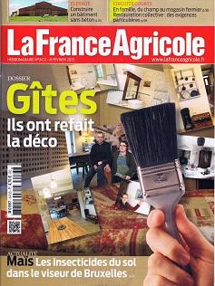 Photo du magazines, journaux agricoles La France Agricole
