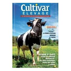 Photo du magazines, journaux agricoles Cultivar Elevage