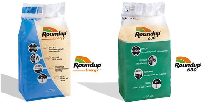 Photo du Herbicides totaux Roundup 680 et Roundup Energy