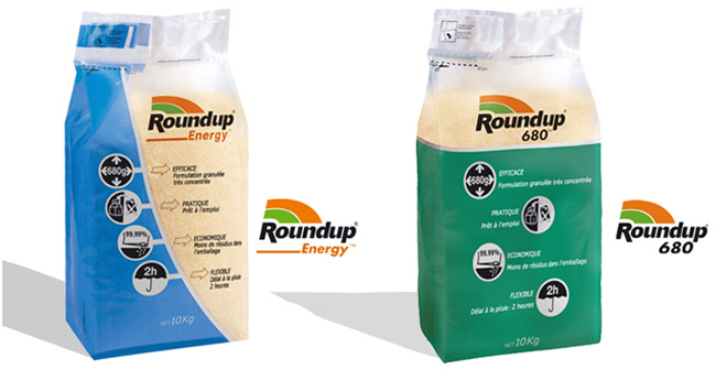 Photo du Herbicides totaux Roundup 680 et Roundup Energy
