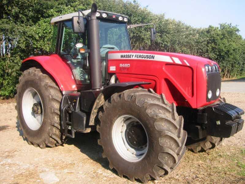 Photo du Tracteurs agricoles MF 8460