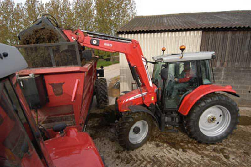 Photo du Tracteurs agricoles MF 6445