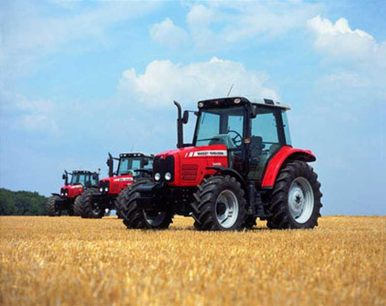 Photo du Tracteurs agricoles MF 5455