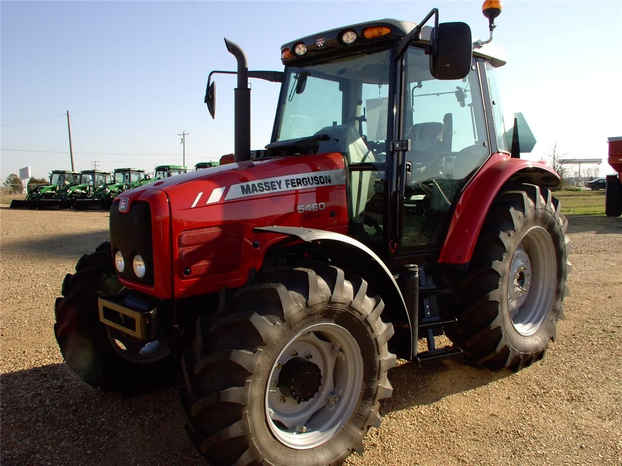 Photo du Tracteurs agricoles MF 5460