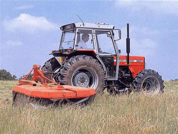 Photo du Tracteurs agricoles MF 362