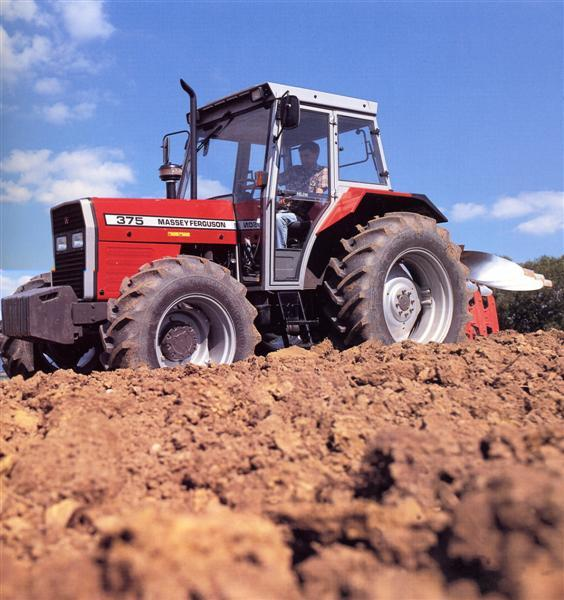 Photo du Tracteurs agricoles MF 375