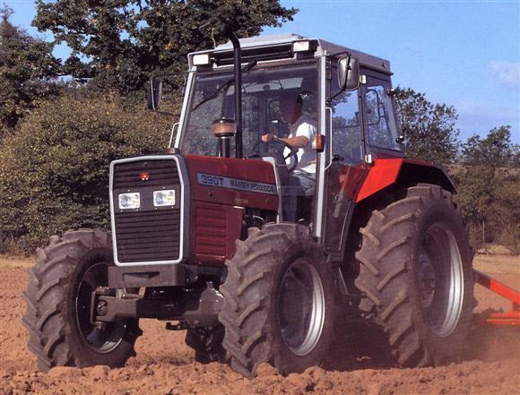 Photo du Tracteurs agricoles MF 390 T