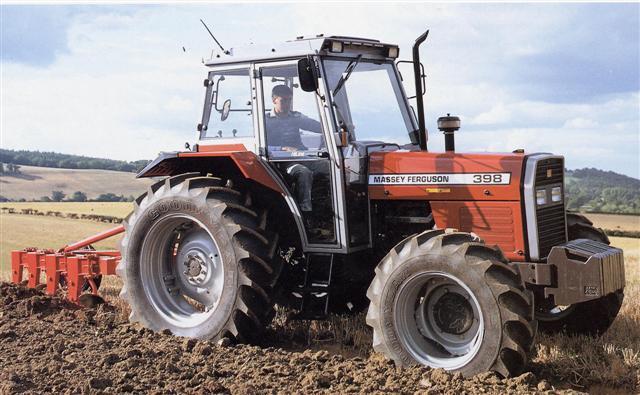 Photo du Tracteurs agricoles MF 398
