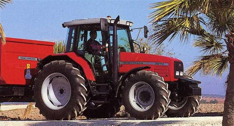 Photo du Tracteurs agricoles MF 6270