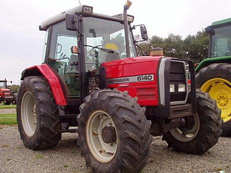 Photo du Tracteurs agricoles MF 6140
