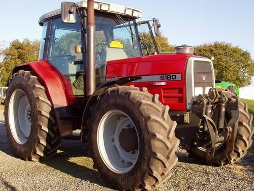Photo du Tracteurs agricoles MF 6180