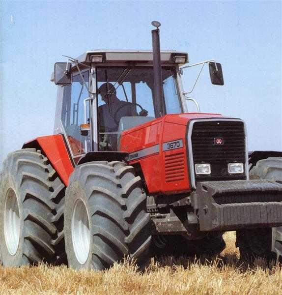 Photo du Tracteurs agricoles MF 3670