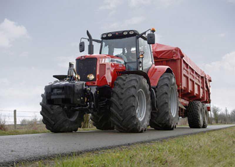 Photo du Tracteurs agricoles MF 6495 (Dyna-6)