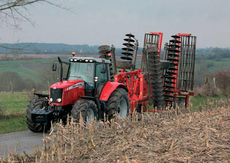 Photo du Tracteurs agricoles MF 6490 (Dyna-6)