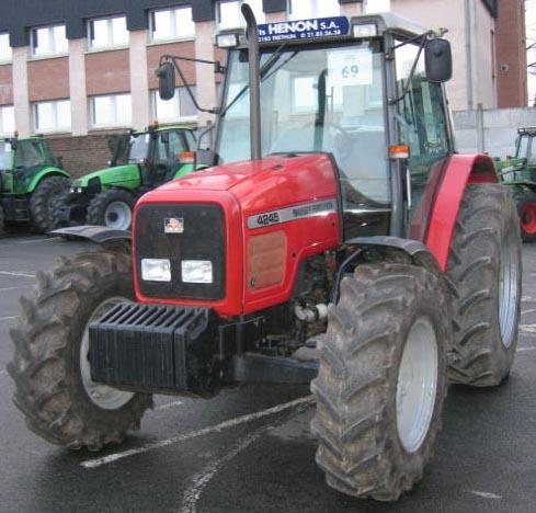 Photo du Tracteurs agricoles MF 4245