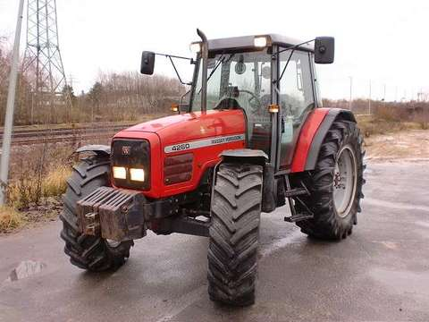 Photo du Tracteurs agricoles MF 4260