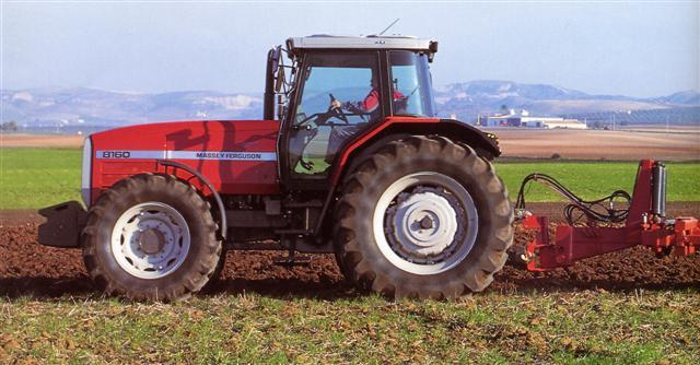 Photo du Tracteurs agricoles MF 8160