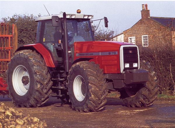 Photo du Tracteurs agricoles MF 8170