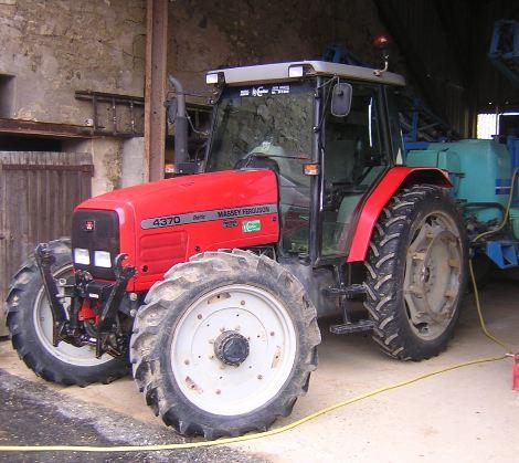 Photo du Tracteurs agricoles MF 4370