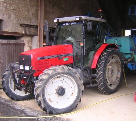 Photo du Tracteurs agricoles MF 4370