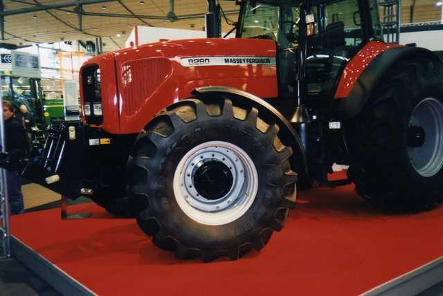Photo du Tracteurs agricoles MF 8280