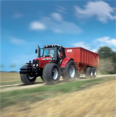 Photo du Tracteurs agricoles MF 7480