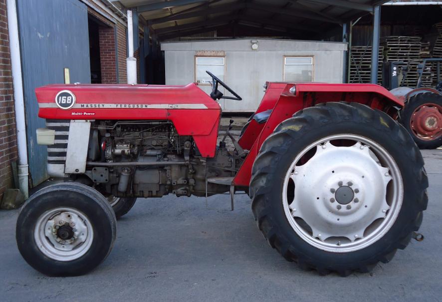Photo du Tracteurs agricoles MF 168