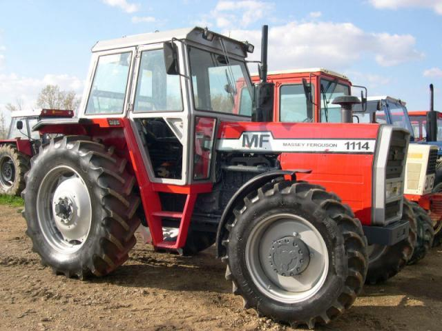 Photo du Tracteurs agricoles MF 1114