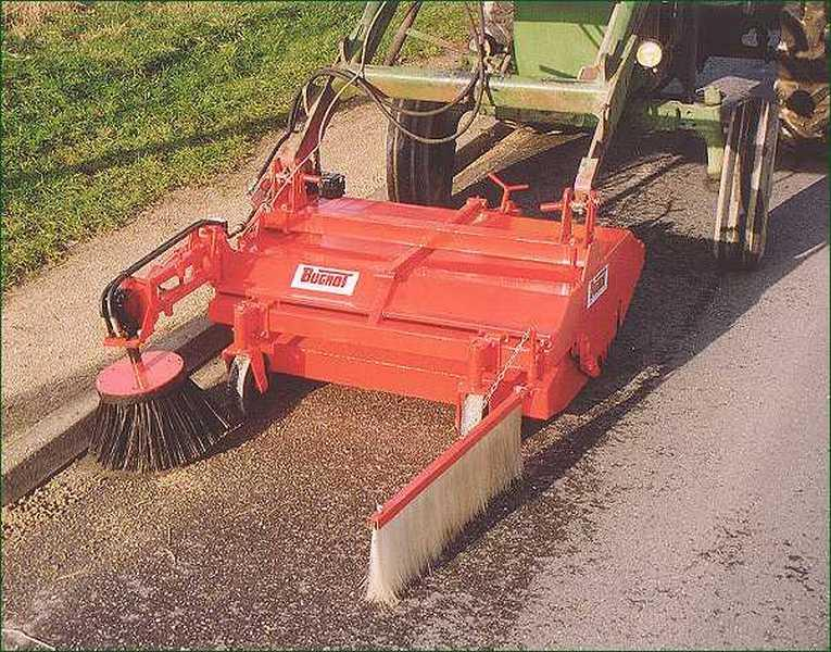 Photo du Balayeuses BR 120 (ramasseuse)