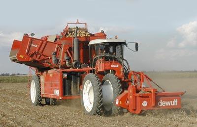 Photo du Arracheuses à pommes de terre Mega R3000 (automotrice 2 rangs)