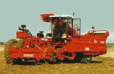Photo du Arracheuses à pommes de terre Mega R 4000