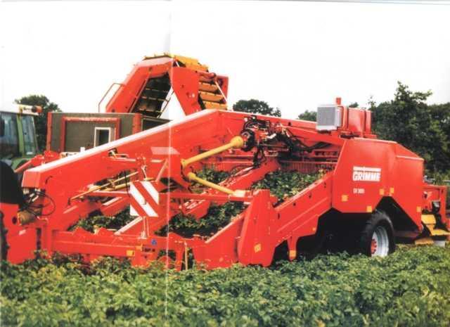 Photo du Arracheuses à pommes de terre GV 3000
