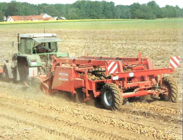 Photo du Arracheuses à pommes de terre RL 3000 (aligneuse)