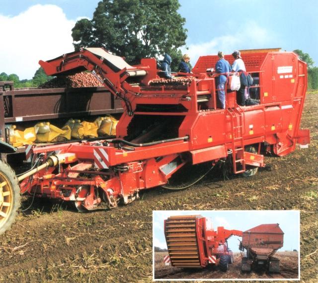 Photo du Arracheuses à pommes de terre GBS 1700