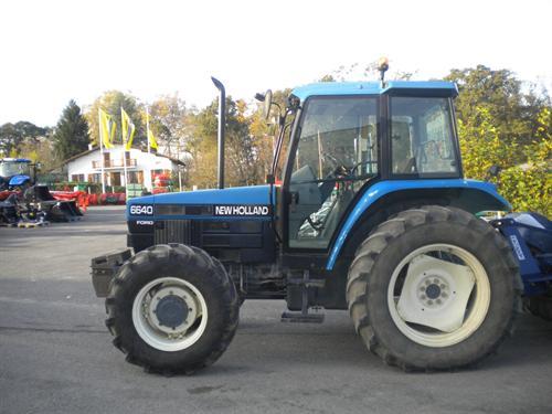 Photo du Tracteurs agricoles 6640 SL/ SLE
