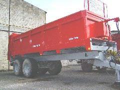 Photo du Epandeurs à fumier et composts EBV 1200 - EBV 1500