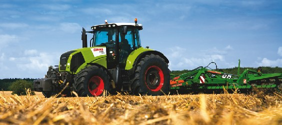Photo du Tracteurs agricoles Axion 820 Cebis/CIS