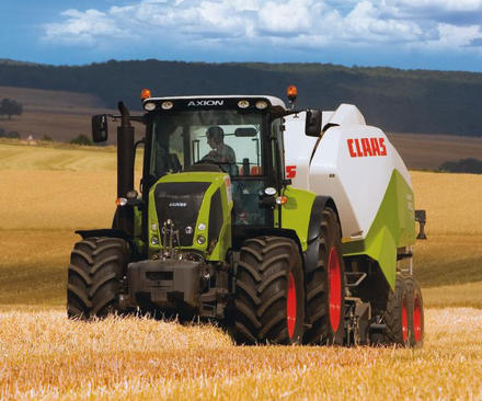 Photo du Tracteurs agricoles Axion 840 CMatic